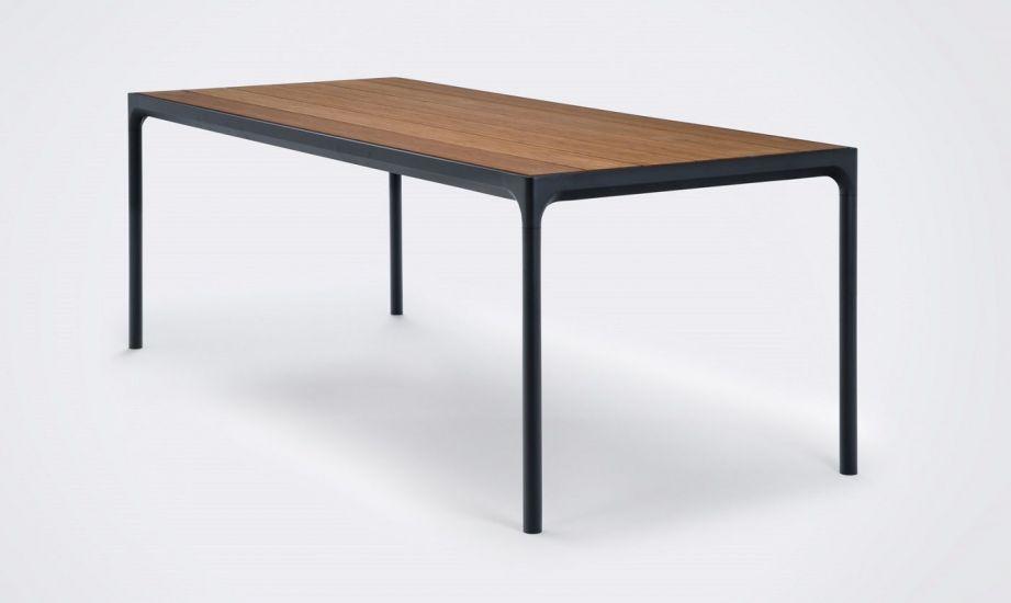 HOUE - FOUR Hagebord 210x90 - Bambus Topp