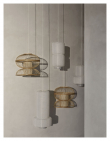Sabbie Lampeskjerm - Bambus, Ø48
