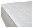 Tällberg 5-zoner Kontinentalseng Medium/Medium, Beige stoff, 180x200