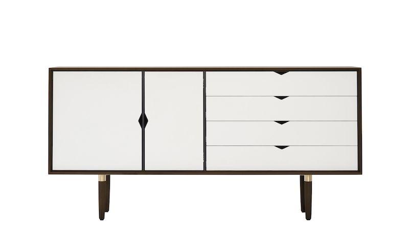 Andersen Furniture - S6 Skjenk - Valnøtt - Hvit