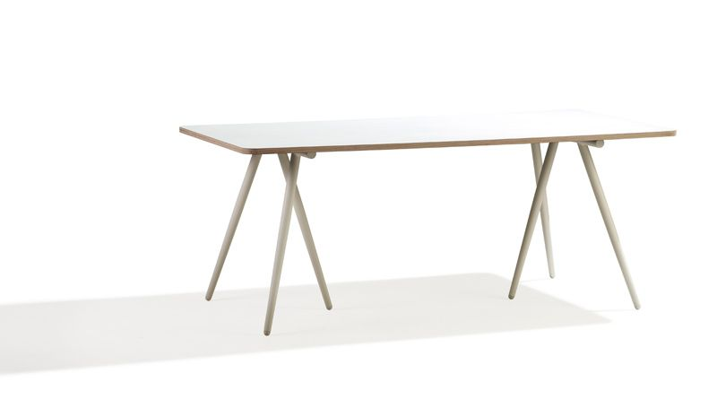 Cane-line - Turn 180x90 Spisebord - Hvit