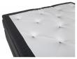 Furudal 7-zoner Kontinentalseng Medium/Medium, Mørkegrå stoff, 160x200