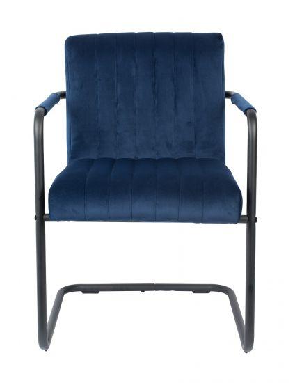 Dutchbone Stitched Spisebordstol - Blå