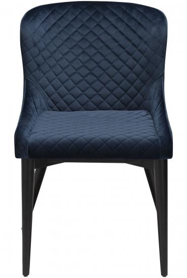 Danform Vetro Spisebordstol - Midnattsblå Velur