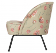 Vogue Loungestol - Rococo Agave Velour