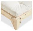 Elan Sengeramme Natur, Latex Futon madrass, Offwhite, 180x200