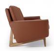 Kragelund Egsmark 3-seter sofa, Cognac Lær