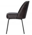Vogue Spisebordsstol - Sort Læder