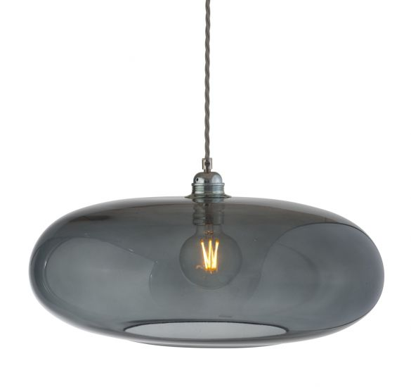 Ebb&Flow - Horizon pendel, Ø45cm smokey grå