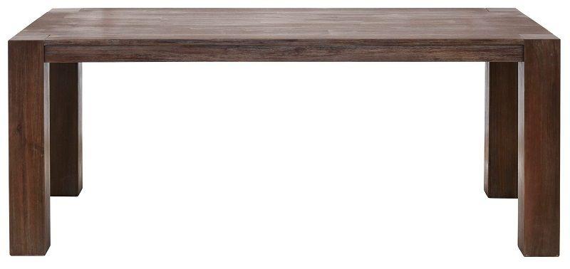 Mabel Spisebord 220x100 - mørkt Akasietre