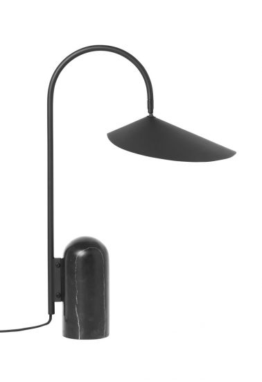 Ferm Living - Arum Bordlampe - Sort