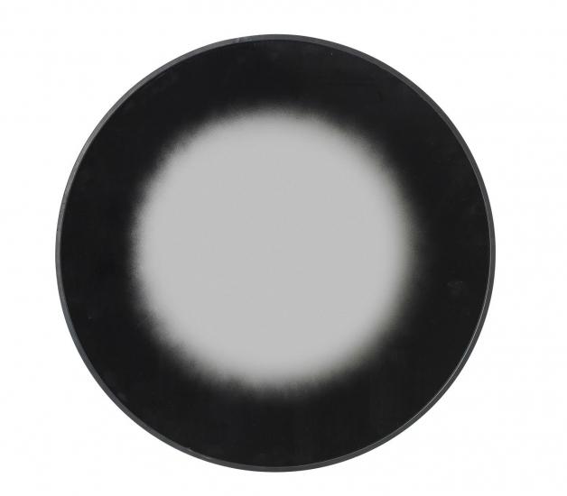 Shadow Spejl - Sort kant, Ø60
