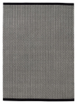 Fabula Living Gro Luvteppe - Sort/Off White, 250x350