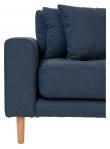Lido Lounge Sofa høyrevendt sjeselong - Mørkeblå