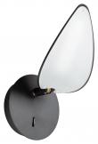 Kave Home Veleira LED Vegglampe - Sort