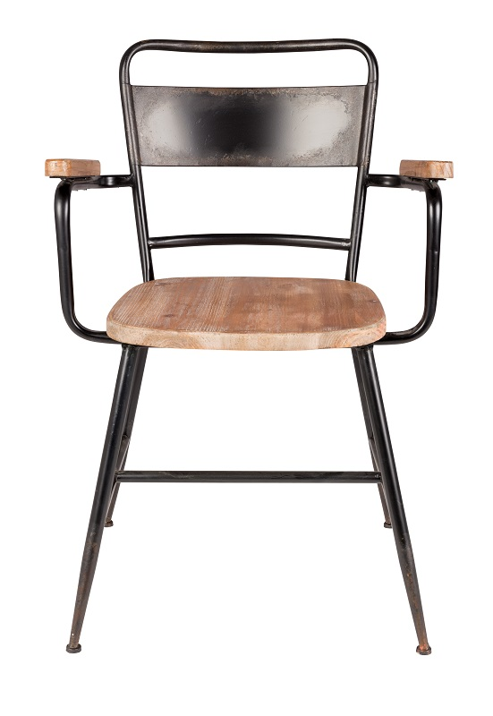homii - Gene Spisebordsstol m/armlæn - Natur