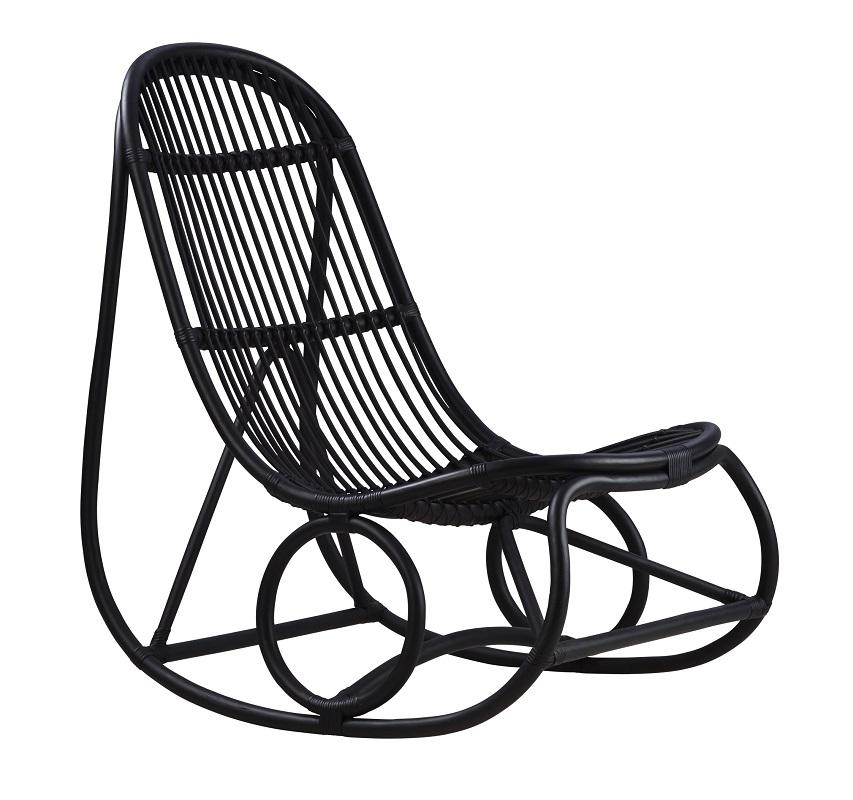 ICONS Nanny Gyngestol - Sort Sika-Design